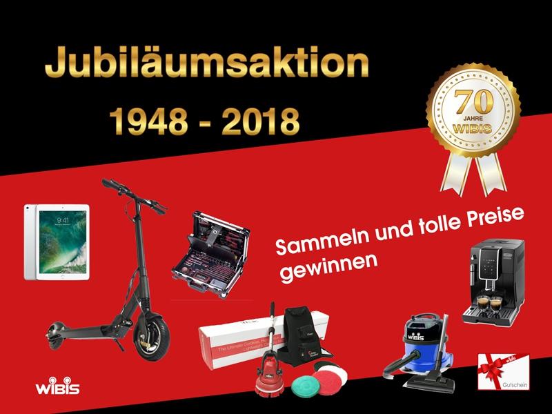 Jubiläum Wibis 70 Jahre